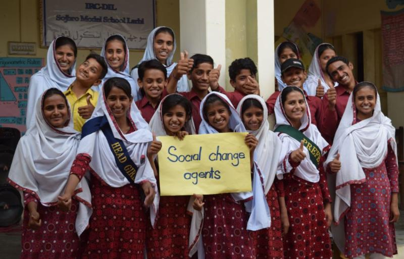 DIL Students are Social Change Agents